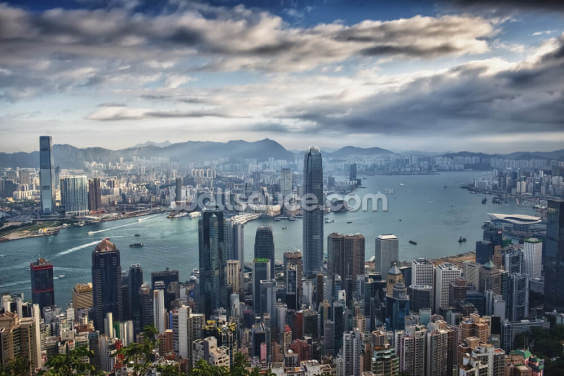 Hong Kong Wallpaper Wall Murals