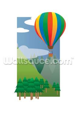 Balloon Ride in the Sky (2013) Wallpaper Wall Murals