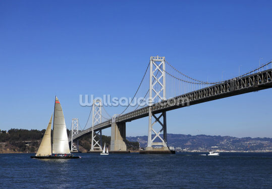 Bay Bridge Wallpaper Wall Murals