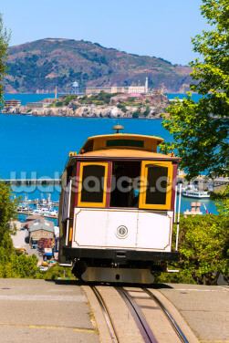 San francisco Cable Car Wallpaper Wall Murals