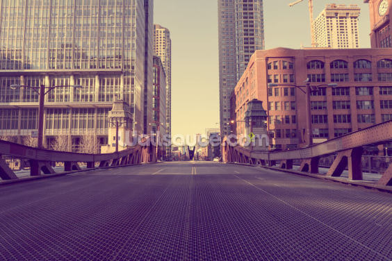Chicago Bridge Wallpaper Wall Murals