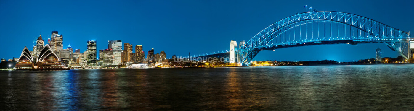 Sydney Harbour Panoramic Wallpaper Wall Murals