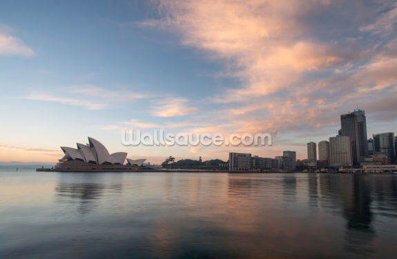 Sunrise over Sydney Opera House Wallpaper Wall Murals