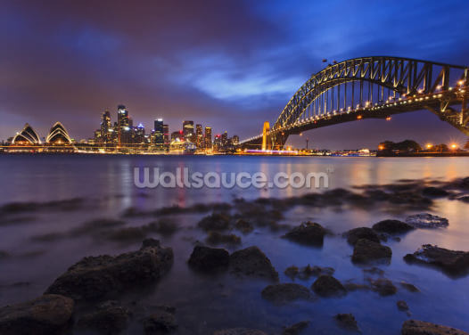 Sy Mils Set Low Tide Wallpaper Wall Murals