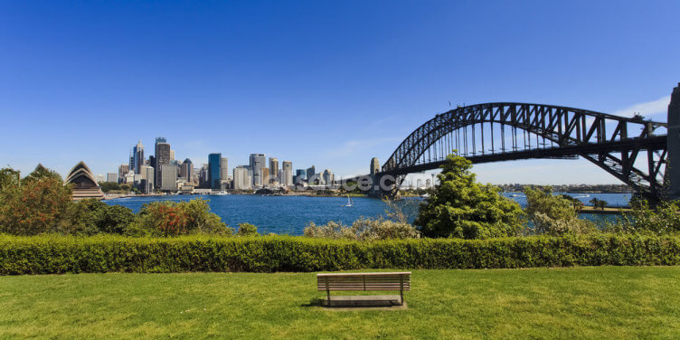 Sydney from Milson's Point Wallpaper Wall Murals