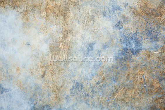 Blue Oxidize Wallpaper Wall Murals