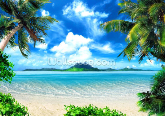 Paradise Island Wallpaper Wall Murals
