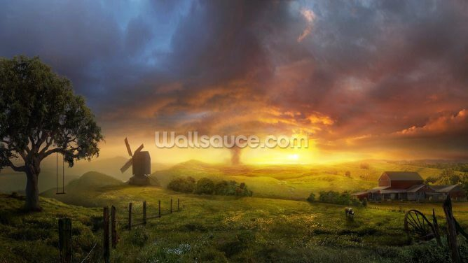 Infinite Oz Wallpaper Wall Murals