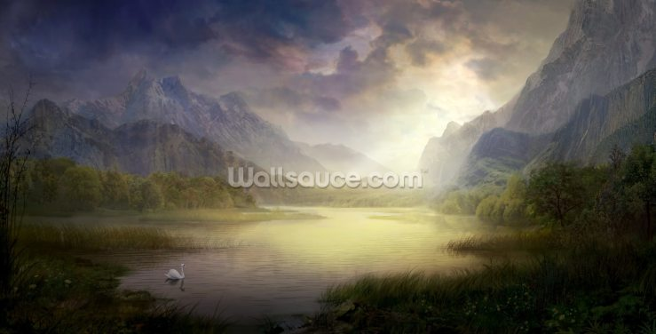 Silent Morning Wallpaper Wall Murals