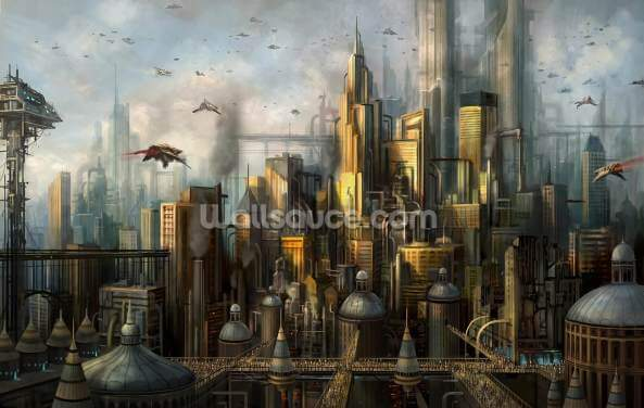 Metropolis Wallpaper Wall Murals