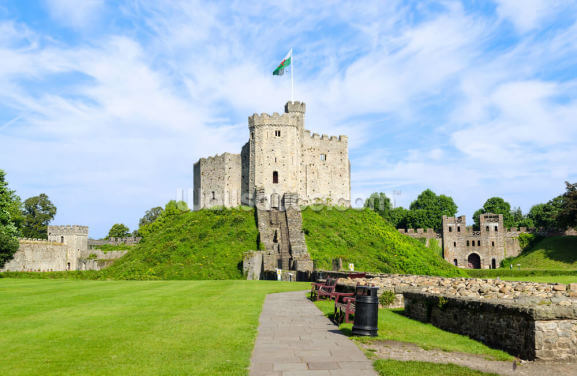 Cardiff Castle Wallpaper Wall Murals