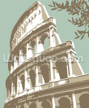 Rome Colosseum by Steve Read Wallpaper Wall Murals