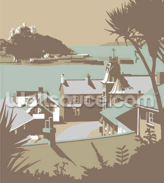 Marazion 2 Wallpaper Wall Murals