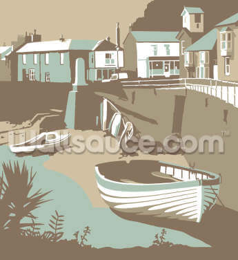 Mousehole Wallpaper Wall Murals