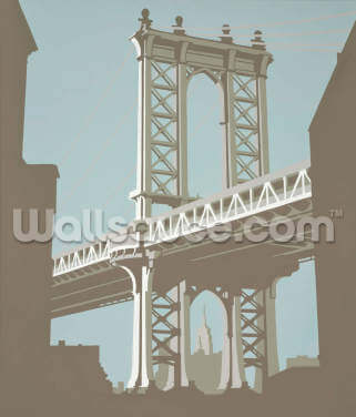 Brooklyn Bridge, New York Wallpaper Wallpaper Wall Murals