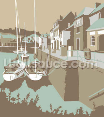 Padstow 2 Wallpaper Wall Murals