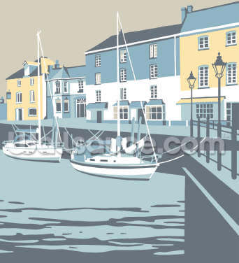 Padstow 3 Wallpaper Wall Murals