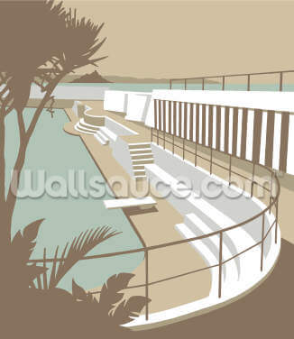 Penzance Pool Wallpaper Wall Murals