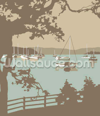 Poole Harbour View Wallpaper Wall Murals