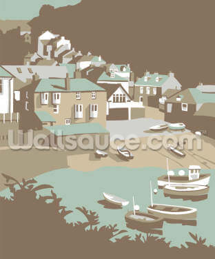 Port Issac Wallpaper Wall Murals