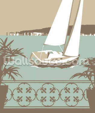 Sandbanks Balcony 2 Wallpaper Wall Murals