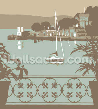 Sandbanks Balcony 1 Wallpaper Wall Murals