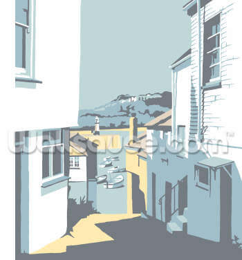 St Ives 2 Wallpaper Wall Murals