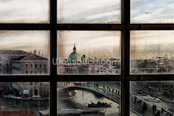 Venice Window Wallpaper Wall Murals