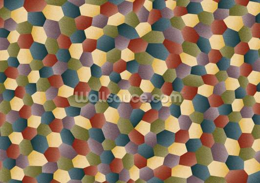 Textured Polygon Wallpaper Wall Murals