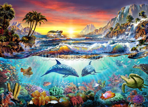 Paradise Bay Wallpaper Wall Murals