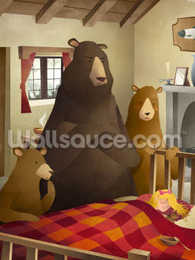 Goldilocks Wallpaper Wall Murals