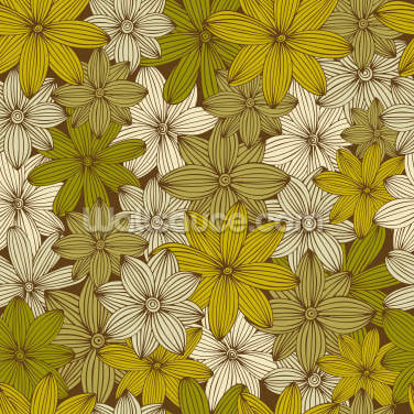 Camo Yellow Wallpaper Wall Murals