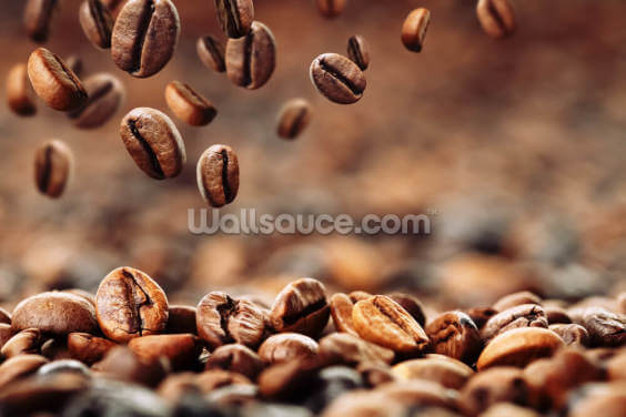 Coffee Beans Wallpaper Wall Murals