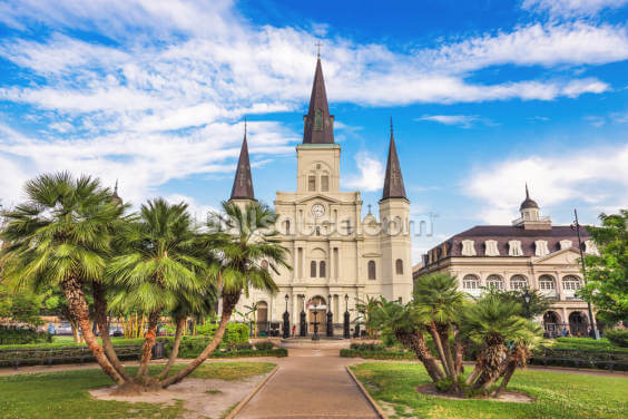 St Louis Cathedral Wallpaper Wall Murals