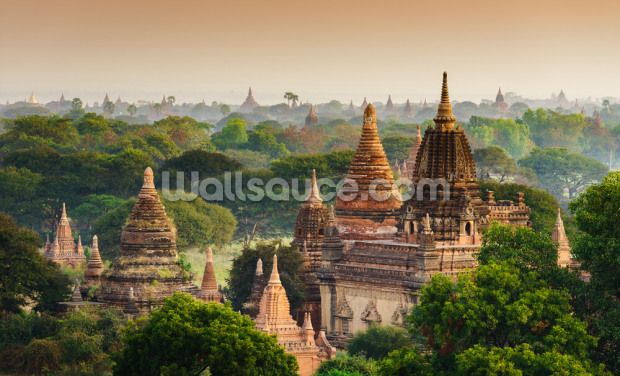 Myanmar Temples Wallpaper Wall Murals