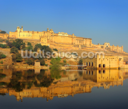 Jaipur Fort Wallpaper Wall Murals