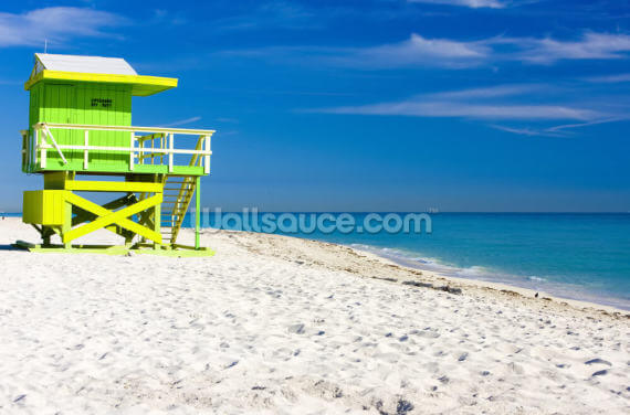 Miami Beach Wallpaper Wall Murals