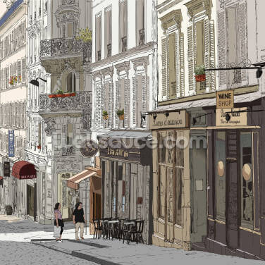 Montmartre, Paris Wallpaper Wall Murals