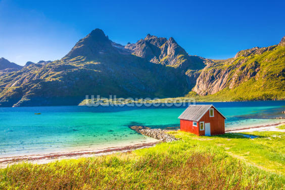 Lofoten Islands Wallpaper Wall Murals