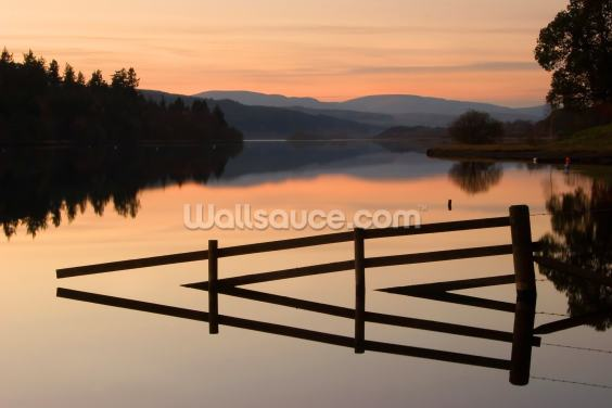 Still on Loch Ken Wallpaper Wall Murals