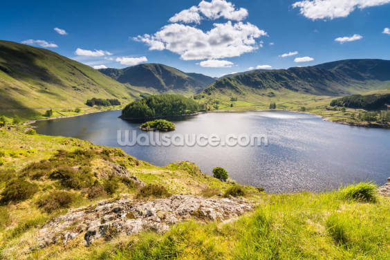 Haweswater from Whiteacre Crag Wallpaper Wall Murals