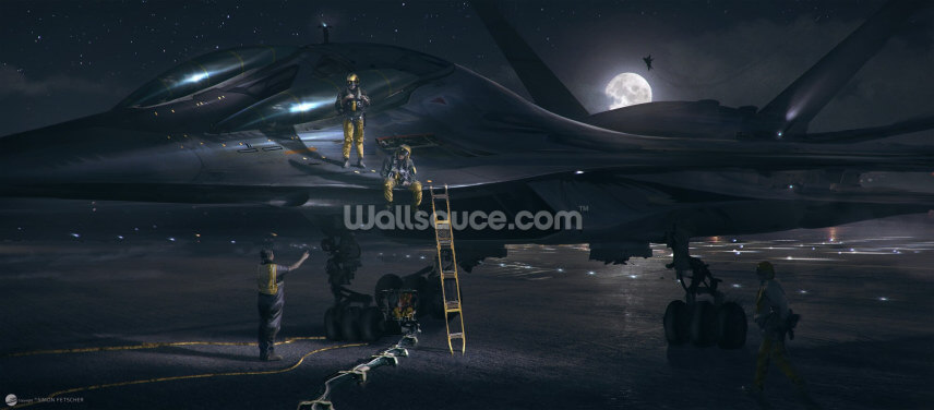Night Rider Wallpaper Wall Murals