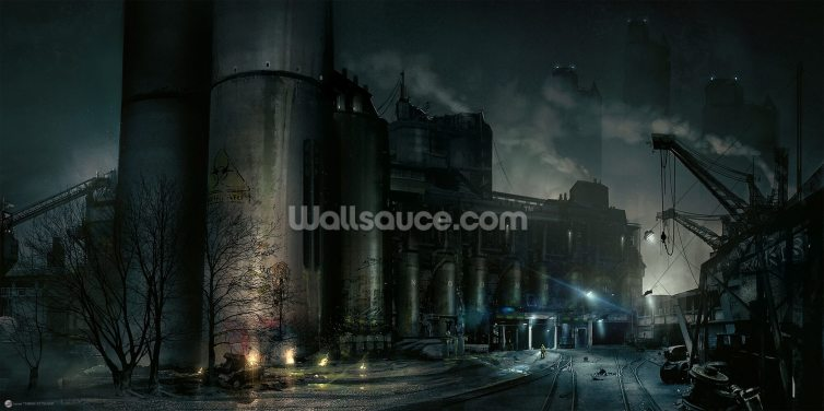 Toxic Wallpaper Wall Murals