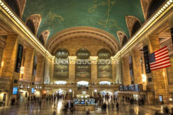 Grand Central Station, New York Wallpaper Wall Murals