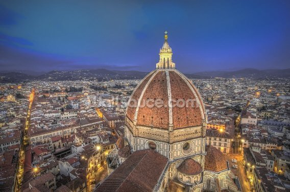 The Duomo, Florence Cathedral. Wallpaper Wall Murals