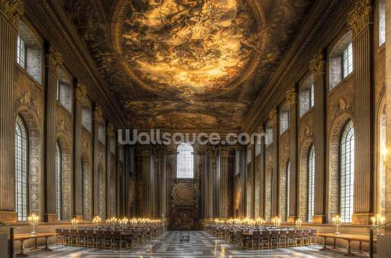 The Painted Hall, Greenwich Wallpaper Wall Murals