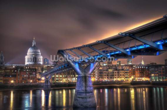 The Bridge to St Paul's Wallpaper Wall Murals