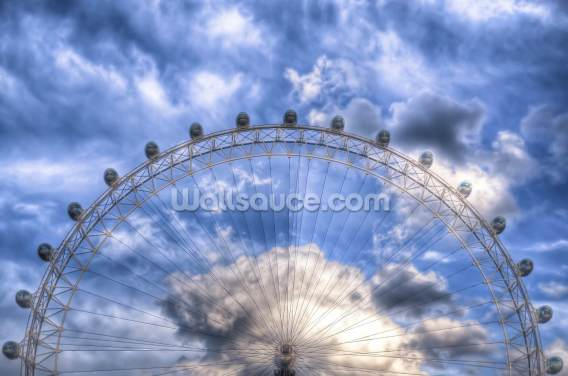 Top of the London Eye Wallpaper Wall Murals
