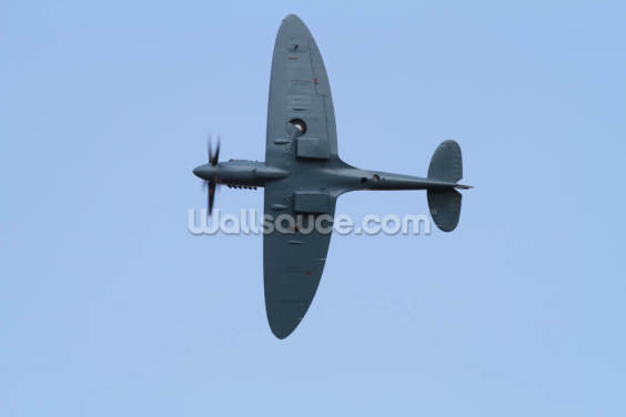 Spitfire Under Carriage Wallpaper Wall Murals