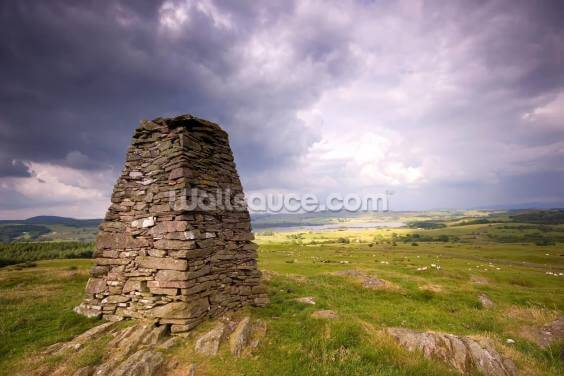 Cairn and Clouds Wallpaper Wall Murals
